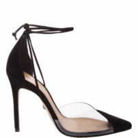 Scarpin Vinil Lace Up Black | Schutz
