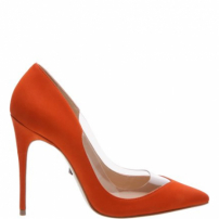Scarpin Vinil Orange | Schutz
