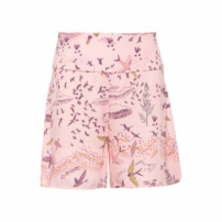 Short Estampado Poliana Lebôh - Rosa