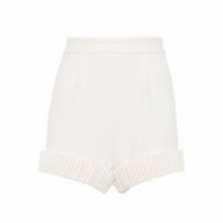 Short Feminino Barra - Off White