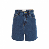 Short Jeans Dark Blue Framed