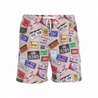 Short Masculino Route 69 - Bege