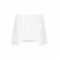 Short Saia Guapa Off White Sophia Hegg