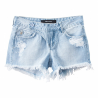 Shorts 8Cm Transpasse Lateral Two Denim Jeans