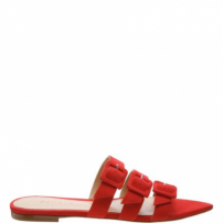 Slide Buckle Red | Schutz