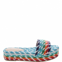 Slide Flatform Corda Color Twist | Schutz