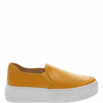 Slip On S-High Snake Yellow | Schutz
