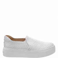 Slip On S-High Snake White | Schutz