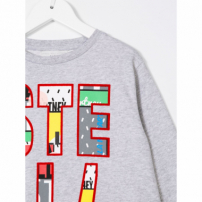 Stella Mccartney Kids Moletom 'june' - Cinza