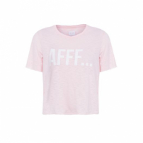 T-Shirt Cropped Aff Pop Up Store - Rosa