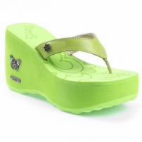 Tamanco Barth Shoes Sorvete Green Gold