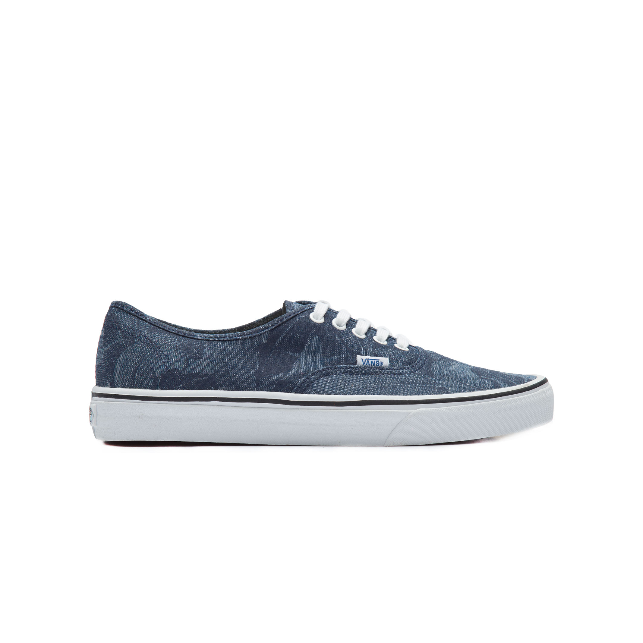 9ac728a1ae TÊnis Masculino U Authentic Chambray Leave - Azul
