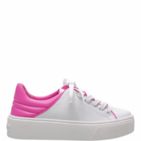 Tênis S-Oxy White And Neon Pink | Schutz