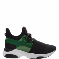 Tênis S-Ultra Black & Green | Schutz
