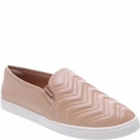 Tênis Slip On Chevron Nude | Anacapri