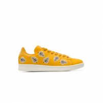 Tênis Stan Smith Adidas Originals + Farm - Amarelo