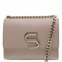 The S Bag Couro Rib Nude | Schutz