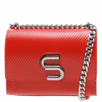 The S Bag Couro Rib Red | Schutz