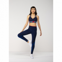 Top Esportivo Lotus  Azul P