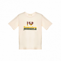 Top Infantil Love Jamaica Mini - Off White