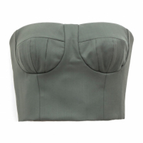 Top Tqc Cropped Verde D.a.m.n + Tanden
