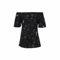 Top Vivi Animale - Preto