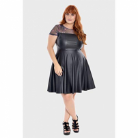 Vestido Black Plus Size Preto-56/58