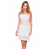 Vestido Curto Beautifull Hit White